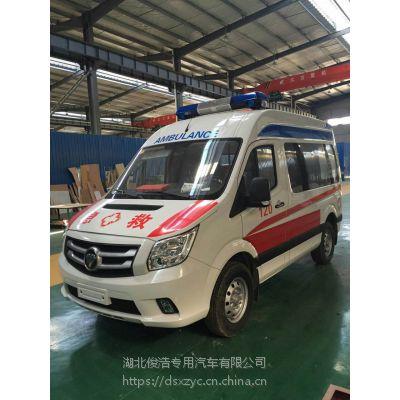 各品牌救护车改装生产医疗采用高分子防火、防水、防菌的材料