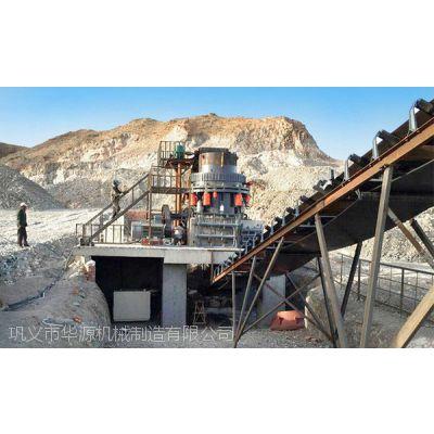 华源时产600t的花岗岩制砂生产线多少钱