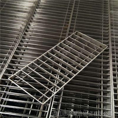 定制304不锈钢格栅排水沟盖板 下水道排污盖板 样式多