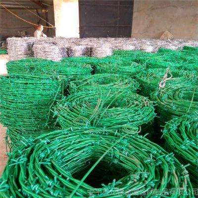 刺丝围网 刺丝滚笼施工 普通刺绳规格