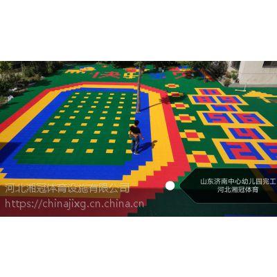 柳州篮球场悬浮地板广西拼装地板厂家