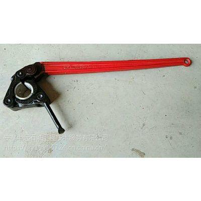 手动式摩擦钳 抽油泵 光滑圆柱螺纹连接专用工具