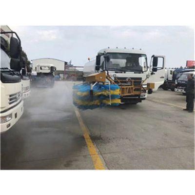 万宁市国六5吨护栏清洗车,城市护栏清洗车