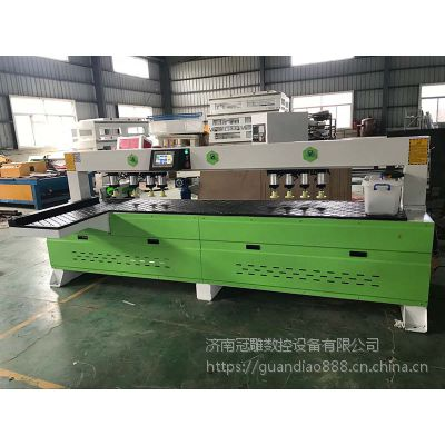 2400数控侧孔机 济南冠雕板式家具生产线厂家