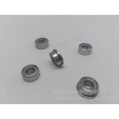SFR1810ZZ 英制不锈钢法兰 完整尺寸参数 百川轴承OEM自动化设备