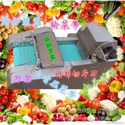 佳鑫600型多功能切菜机厂家 大型大葱切段机 牛羊肉切片机厂家