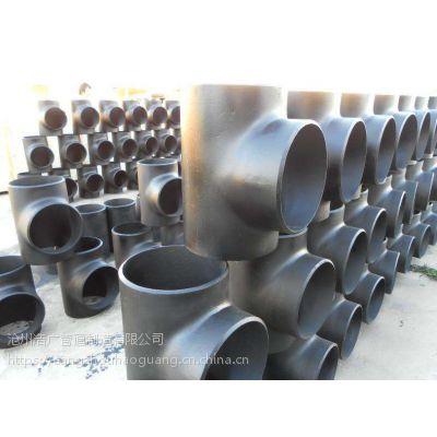 带料加工TA2钛合金钢三通生产