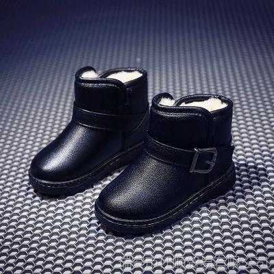 回力童鞋2018冬季新款儿童雪地靴男童女童保暖大棉加厚马丁靴批发