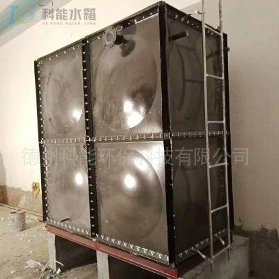 科能装配式搪瓷水箱供应 消防Q235搪瓷钢板水箱 定做人防储油箱