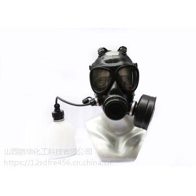 新华化工科技牌MF11型头戴式 防毒口罩面具 厂家直销