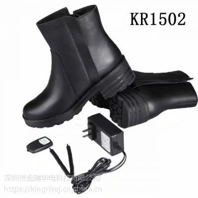 充电发热保暖鞋 自发热短靴 电加热保暖鞋厂家批发
