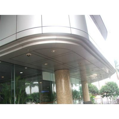 街道改造外墙铝单板定制价,高品质防腐蚀铝单板