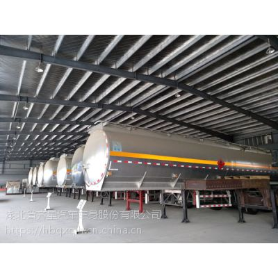 齐星牌铝合金易燃液体罐式运输半挂车图片清晰价格优廉品质口碑具佳