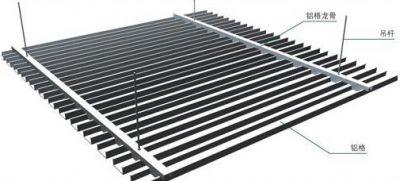 关于铝方通的选择技巧和施工工艺