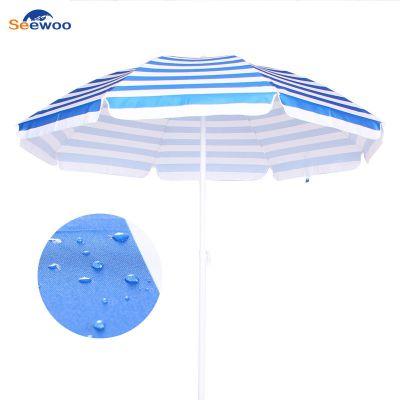 户外广告太阳伞厂家直销 遮阳沙滩伞定制批发 大型雨伞免费定做logo
