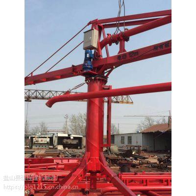 河北布料机厂家生产混凝土电动布料机,半径12米-18米