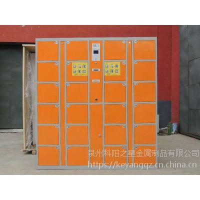 石狮泉州漳州 彩色更衣柜商场储物柜浴室健身房铁皮电子存包柜 可定制
