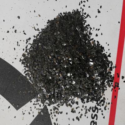 供应10-20目黑云母片 染色多彩岩片 自然色云母片