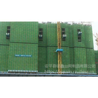 高层提升架网片 脚手架安全网 建筑爬架网 圆孔