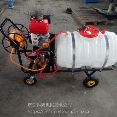大宽幅打药机 大容量自走式喷雾机 科博四轮手推式喷雾器