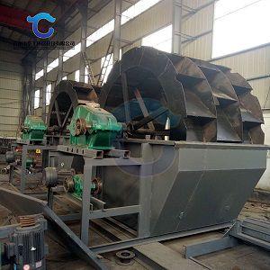 轮斗洗砂机产量-轮斗洗砂机-华工环保科技(查看)