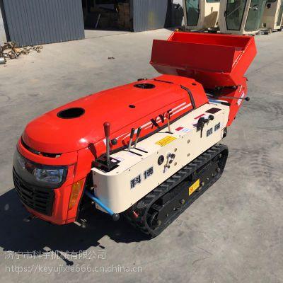 科宇果树履带式开沟机 小型柴油履带式施肥机 多功能回填机