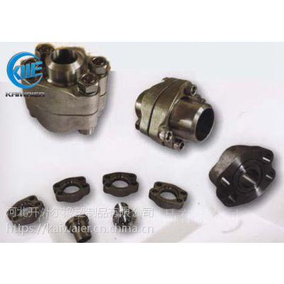 供碳钢SAE分体式法兰 高压液压法兰盘-开外尔