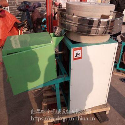 乾宇牌电动动米粉机 电动石磨磨面机 专业供应电动豆浆石磨