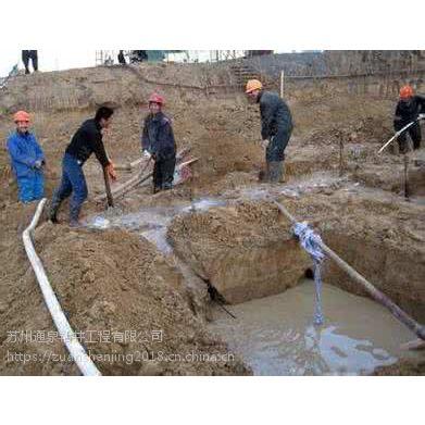 南浔井点降水 南浔乌砂管深井降水 降水深度40米