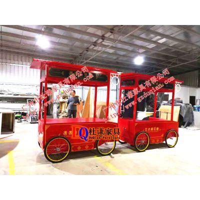 棉花糖食物贩卖花车商场售货车广州厂家直销