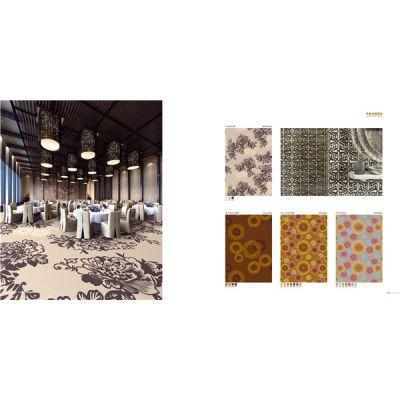 郑州欧式酒店餐厅地毯定制铺装/加厚加密欧式宴会厅地毯