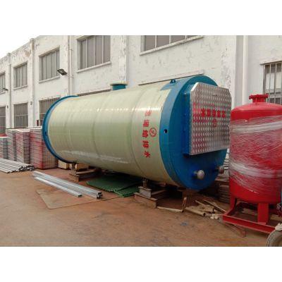 河南玻璃钢筒体一体化预制泵站 成品发货