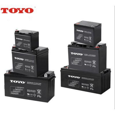 东洋蓄电池6GFM38H/12v38ah电池TOYO.东洋电池正品