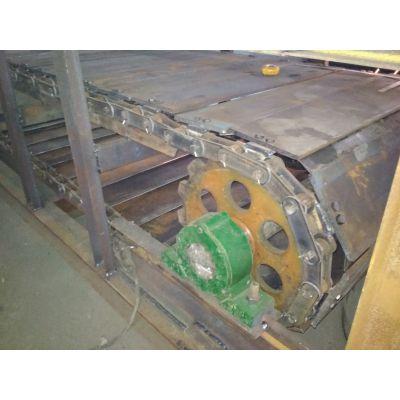 装配链板输送机耐高温 升降式链板输送机视频加工厂家