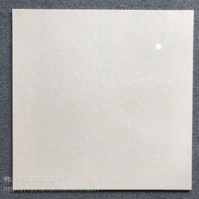 600x600白黄聚晶 佛山直销 耐磨耐刮耐滑 工程砖地板砖瓷砖