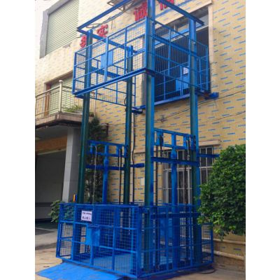 3吨5吨车间升降货梯液压升降机厂房搬运设备厂家定制【华工机械】