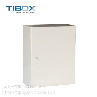 TIBOX配电挂墙式冷轧钢板基业箱IP65