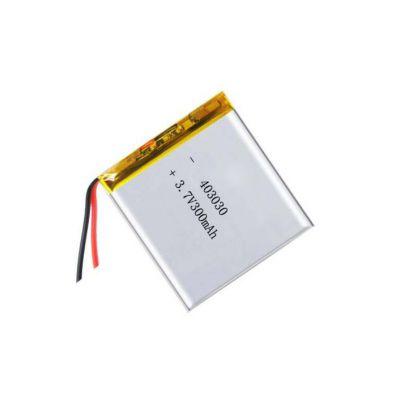 厂家直销智能手表电子秤电池3.7V 300mAh