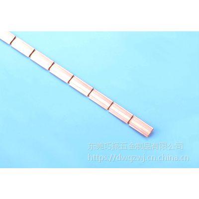 广东五金铍铜导电弹片 电磁屏蔽铍铜簧片生产厂家 可来图来样加工定制