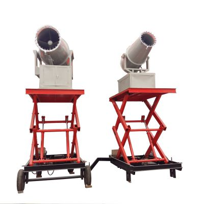 煤场尘埃抑制降尘雾炮机 高压远射程喷雾器 KCS400防冻加热装置