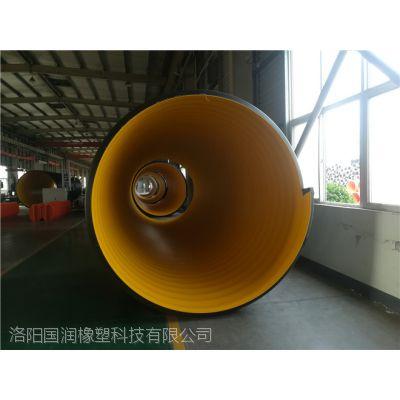 新安县DN400hdpe缠绕排污管承插波纹管