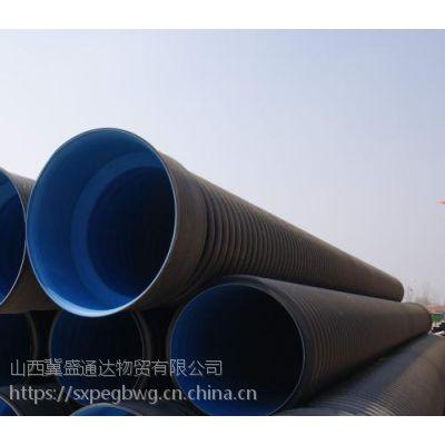 山西忻州地区波纹管现货批发国标和非标都可以发货