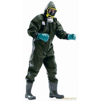 Honeywell/霍尼韦尔A164380防化服 pvc防水防护服  EN343化学服