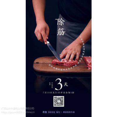 广西肉牛养殖基地屠宰销售全国供给品牌牛肉牛犊牛排