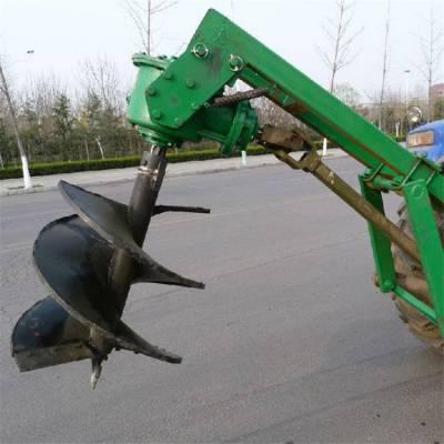 限时优惠植树挖坑机 邦腾电线杆打孔机 冻土硬土挖坑机价格