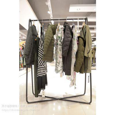 嘉贝逸飞惠之良品品牌女装折扣批发公司 品牌女装折扣活动怎么做尾货藏蓝色毛衣