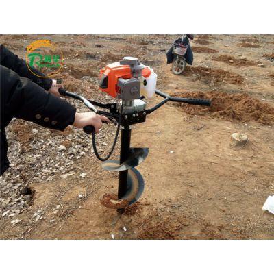 泰安绿化苗木种植汽油打坑机 新疆种和田玉枣打洞机