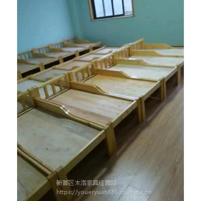成都崇州幼儿园家具厂 纯实木幼儿园家具定做