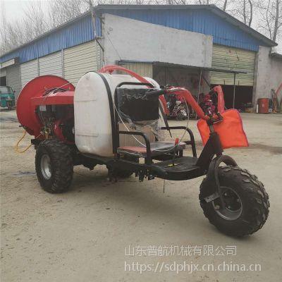 普航 大马力四轮打药机 大型四轮车喷雾器 300升汽油打药机厂家