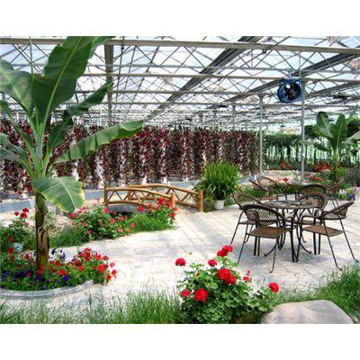 生态餐厅-山西花卉生态餐厅-益兴诚钢构温室工程(推荐商家)
